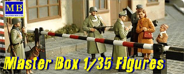 Master Box 1/35 plastic model figures